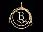Brand in Lariat Pendant